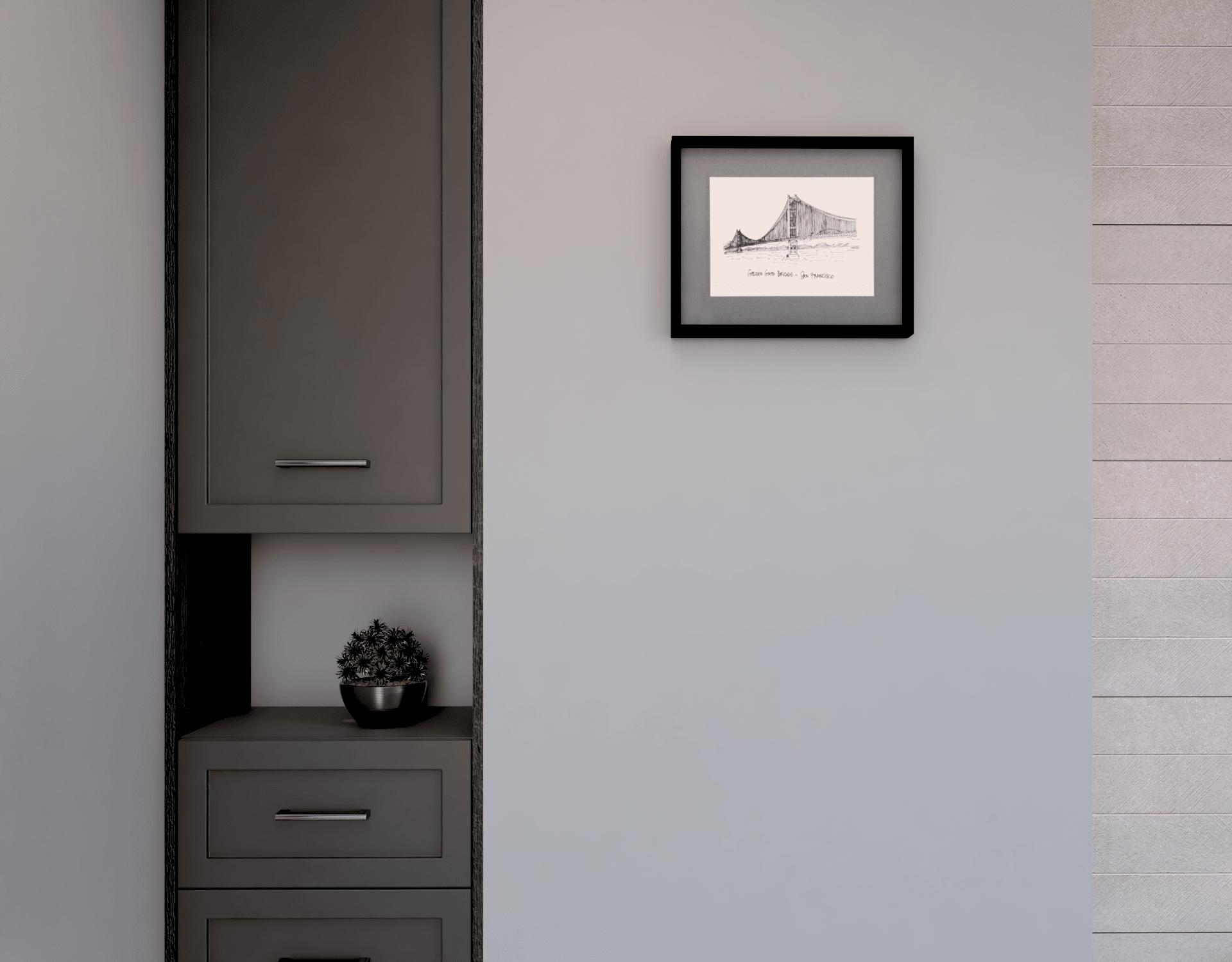 Domowe Spa - szafka łazienkowa we wnęce